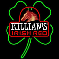George Killians Irish Red Shamrock Beer Sign Neon Skilt