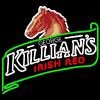 George Killians Irish Red Summer Beer Sign Neon Skilt