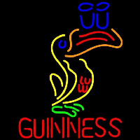Great Looking Multicolored Guinness Beer Sign Neon Skilt