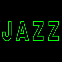 Green Jazz Block Neon Skilt