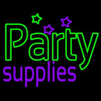 Green Party Supplies Neon Skilt