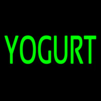 Green Yogurt Neon Skilt