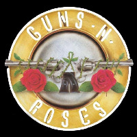 Guns N Roses Ever Time Rock Band Neon Skilt