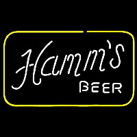 Hamms Square Beer Sign Neon Skilt