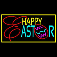 Happy Easter 1 Neon Skilt