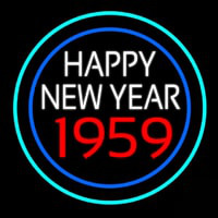 Happy New Year 1959 Bioshock Neon Skilt