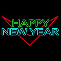 Happy New Year Logo 1 Neon Skilt