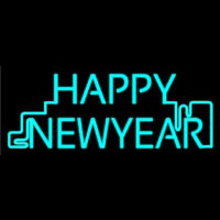 Happy New Year Neon Skilt