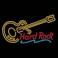 Hard ROCK LIVE MUSIC Guitar Party Neon Skilt