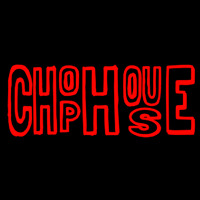 Horizontal Red Chophouse Neon Skilt