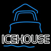 Ice House Day Light House Beer Sign Neon Skilt