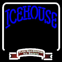 Icehouse Backlit Brewery Beer Sign Neon Skilt