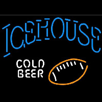 Icehouse Football Cold Beer Sign Neon Skilt