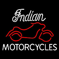 Indian Motorcycles Neon Skilt