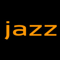 Jazz In Orange 2 Neon Skilt