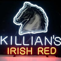 Killians Irish Red . XCAT_LAGER Øl Bar Åben Neon Skilt