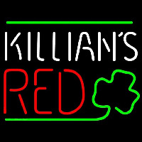 Killians Red Shamrock Beer Sign Neon Skilt