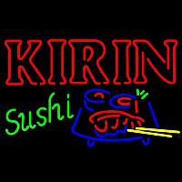 Kirin Beer And Sushi Beer Sign Neon Skilt