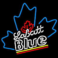 Labatt Blue Beer Sign Neon Skilt