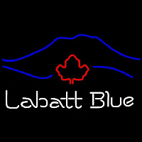Labatt Blue Mountain Beer Sign Neon Skilt