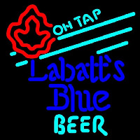 Labatt Blue On Tap Beer Sign Neon Skilt