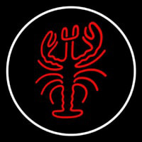 Lobster Logo Oval Neon Skilt