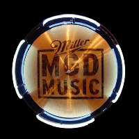 MGD Miller Genuine Draft Drum Symbol Beer Sign Neon Skilt