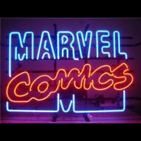 Marvel Comics Neon Skilt