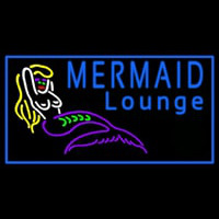 Mermaid Lounge Neon Skilt