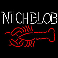 Michelob Lobster Beer Sign Neon Skilt