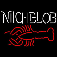 Michelob Lobster Neon Skilt
