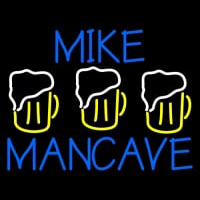 Mike Man Cave Neon Skilt
