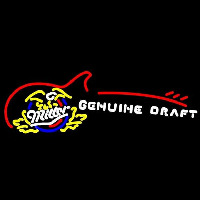 Miller Genuine Draft Sun with Cactus Beer Sign Neon Skilt