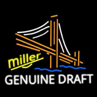 Miller Golden Gate Bridge Neon Skilt