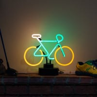 Moutain Bike Desktop Neon Skilt