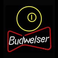 NEW Budweiser Pool Bowtie Beer Light Neon Skilt