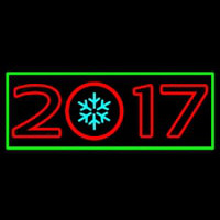 New Year Christmas Ball Neon Skilt