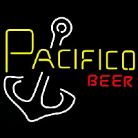 Pacifico Beer Anchor Neon Skilt