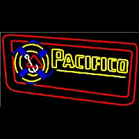 Pacifico Rope Inlaid Beer Sign Neon Skilt