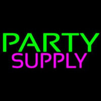 Party Supply Block Neon Skilt