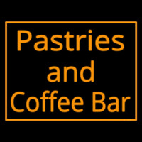Pastries N Coffee Bar Neon Skilt