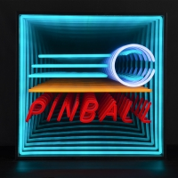 Pinball 3D Infinity LED Neon Sign