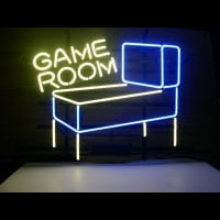 Pinball Game Room Neon Skilt