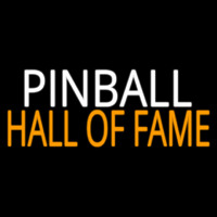 Pinball Hall Of Fame 2 Neon Skilt