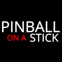 Pinball On A Stick 2 Neon Skilt
