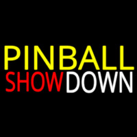 Pinball Showdown 2 Neon Skilt