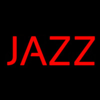 Red Block Jazz Neon Skilt