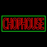 Red Chophouse Neon Skilt