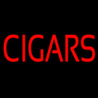Red Cigars Neon Skilt