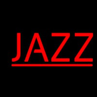 Red Jazz Block 2 Neon Skilt